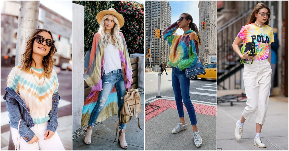 Tendências da Moda 2020 - Tie dye