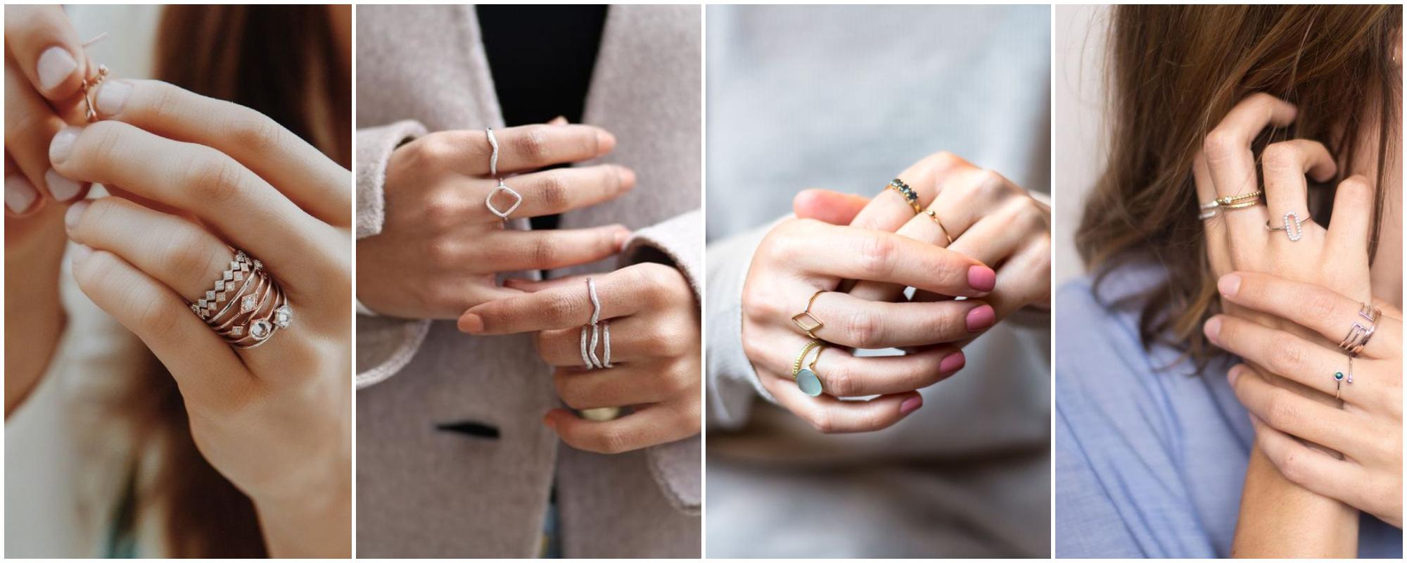 Como combinar anéis – Um guia super prático