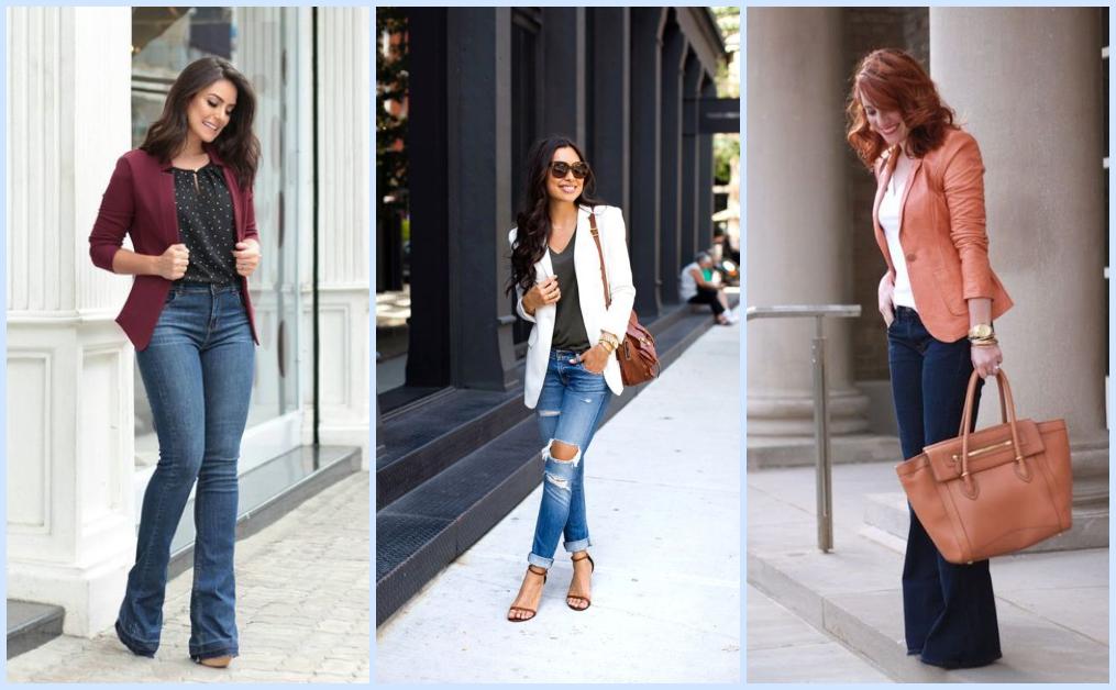 Maneiras estilosas de montar looks com jeans