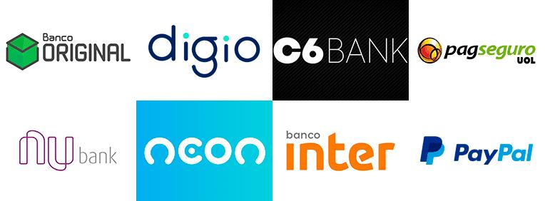 Bancos online que da pra criar boleto