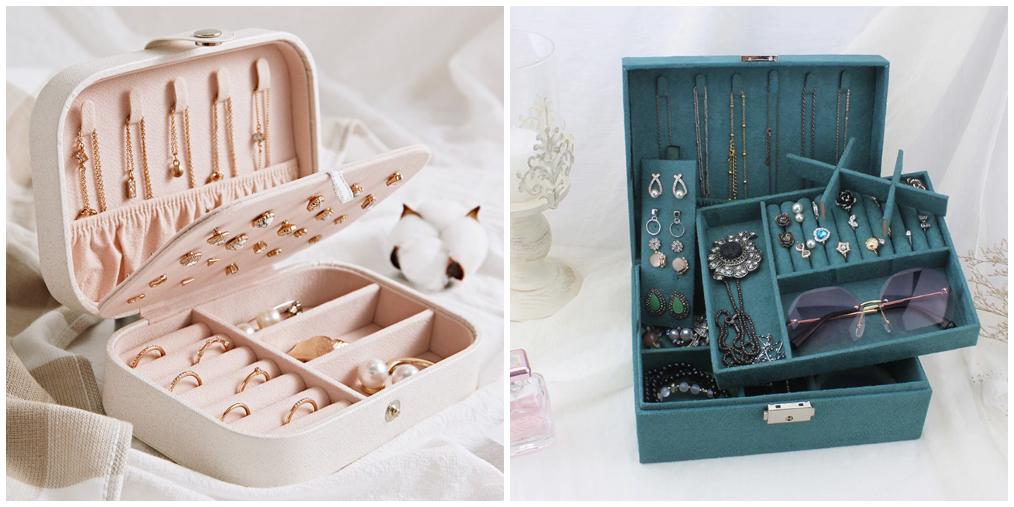 Como guardar joias e bijuterias