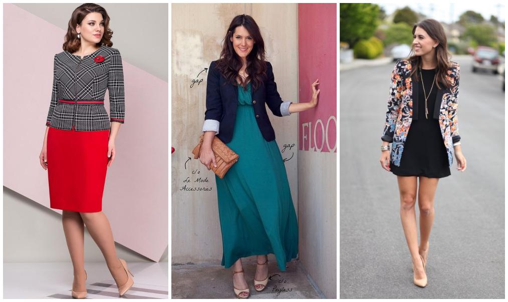 Como usar blazer com vestido