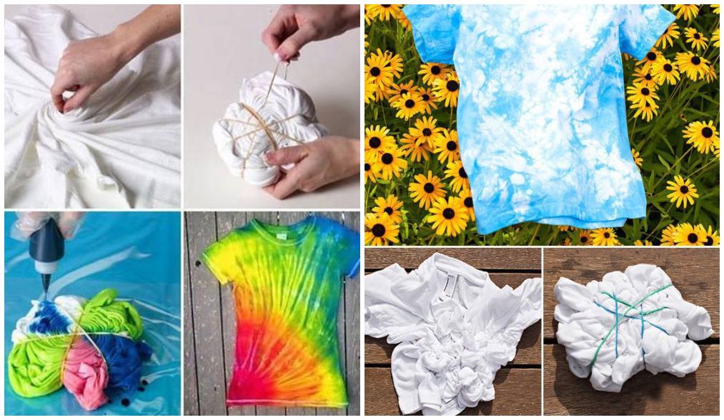 como fazer tie dye em casa