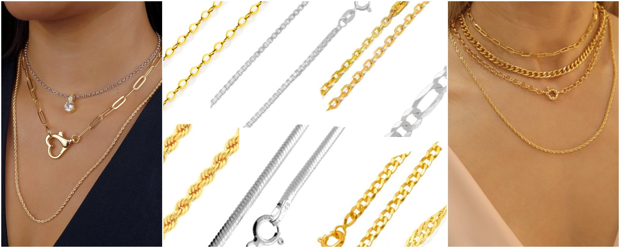 Conheça os 9 tipos de correntes para aderir ao seu estilo!